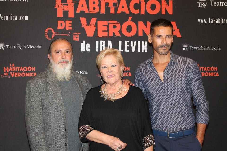 Extreno La habitación de Verónica. Con Manuel Aguilar y Alexandro Valeiras